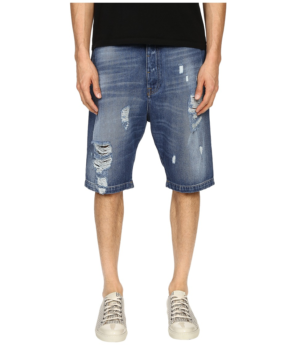 Vivienne Westwood - Anglomania Cargo Shorts (Blue Denim) Men's Shorts