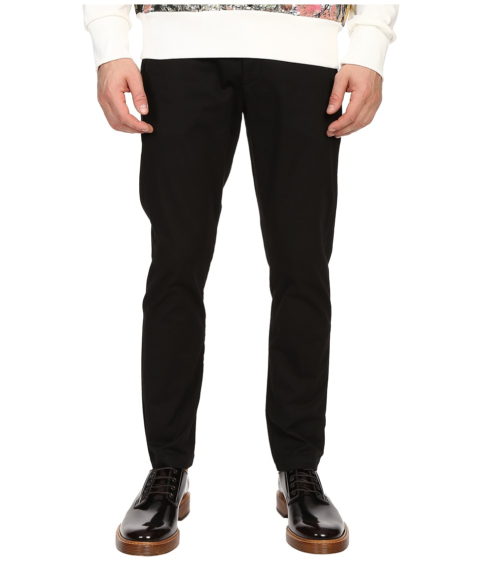 Vivienne Westwood - Anglomania Classic Chino Pants (Black) Men's Casual Pants