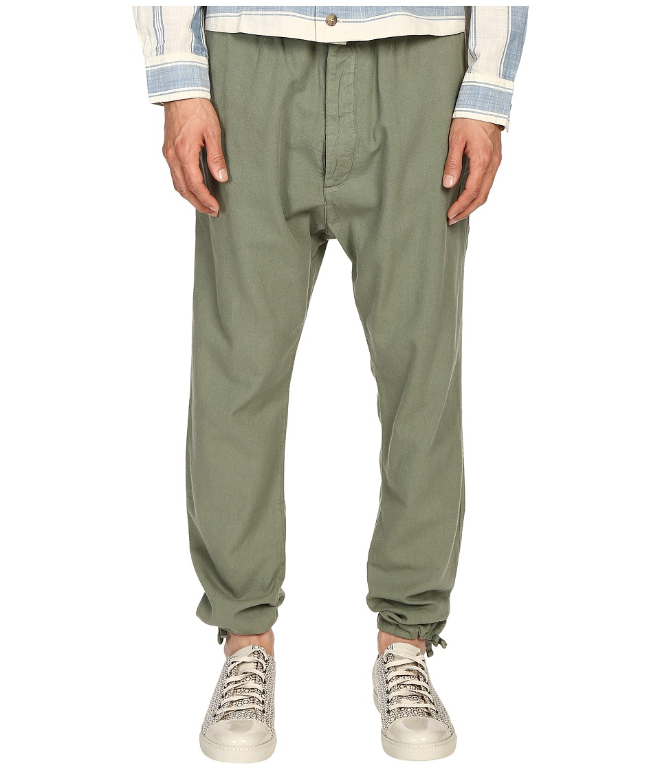 Vivienne Westwood - Anglomania Samurai Utility Trouser Pants (Green) Men's Casual Pants