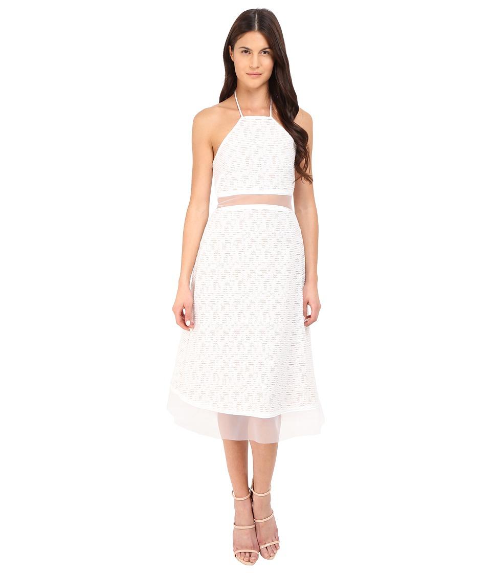 Prabal Gurung - Fils Coupe Cotton Illusion Sleeveless Dress (Porcelain) Women's Dress
