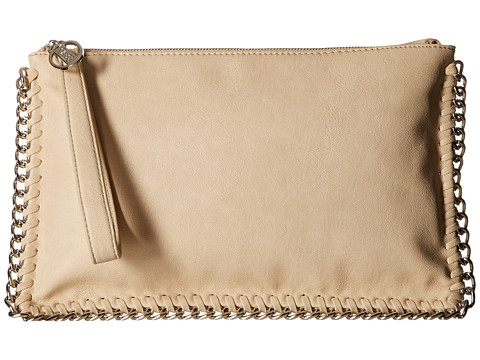 CARLOS by Carlos Santana - Large Clutch (Cream) Clutch Handbags
