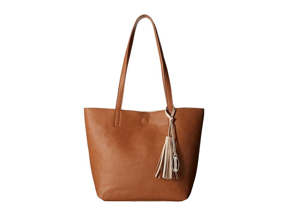 CARLOS by Carlos Santana - Nadia 2-in-1 Tote (Cognac/Bone) Tote Handbags