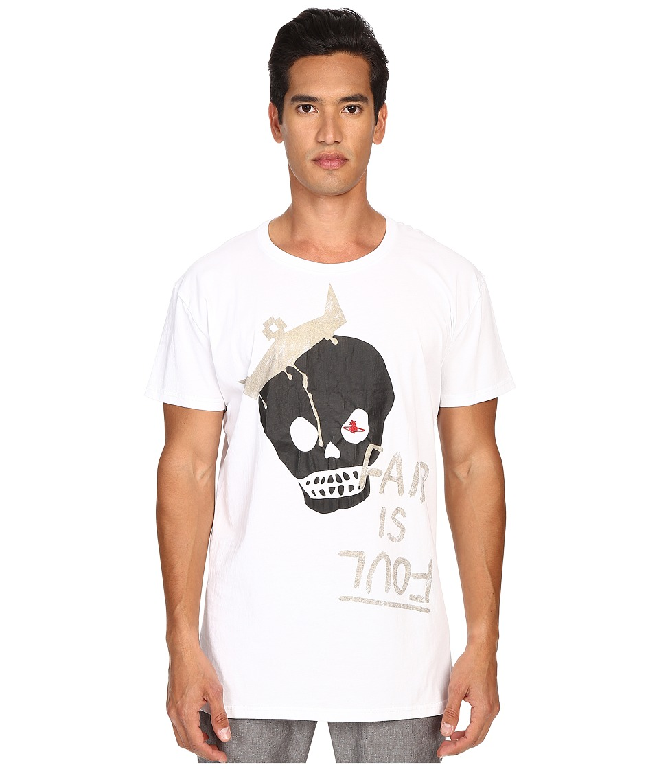 Vivienne Westwood - King Skull T-Shirt (White) Men's T Shirt