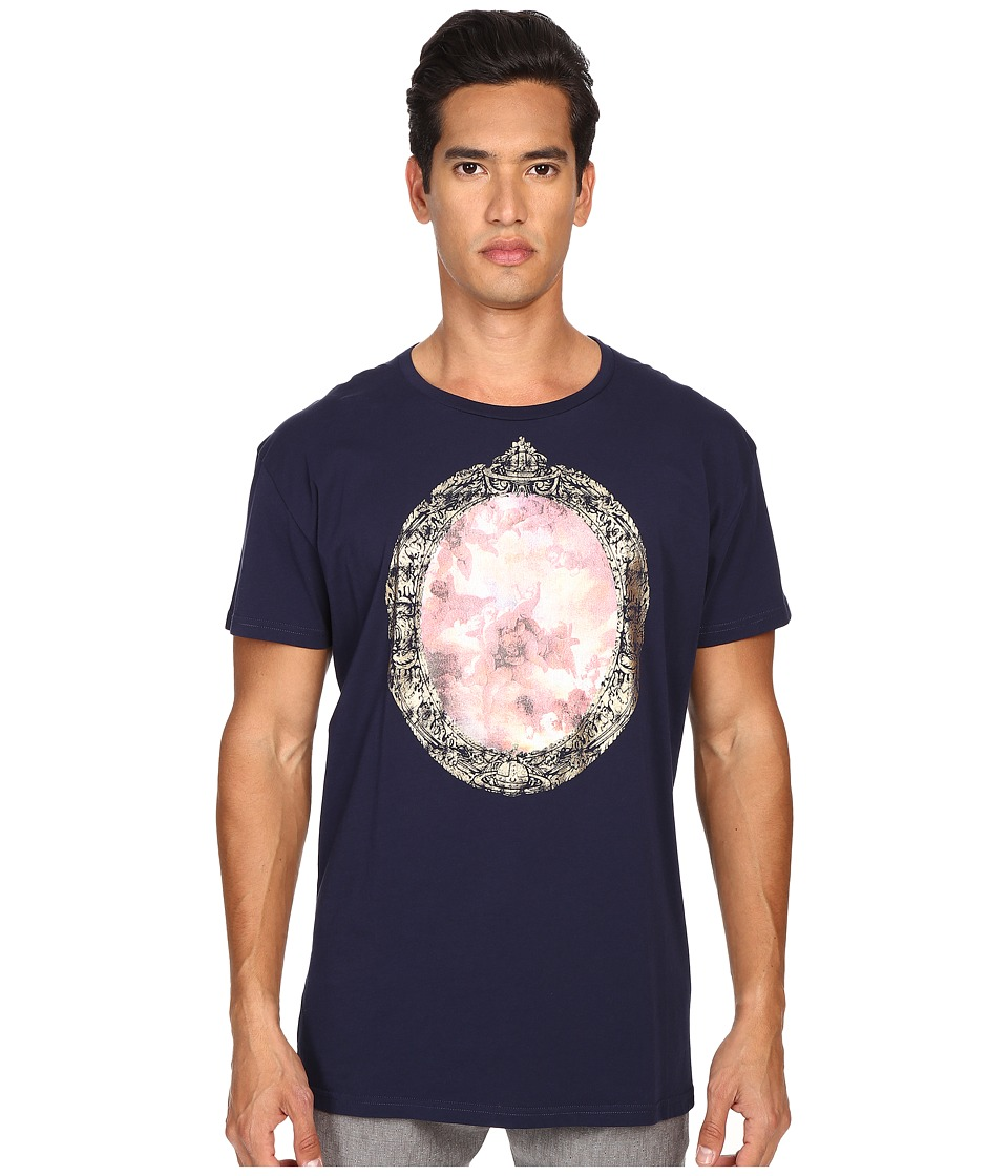 Vivienne Westwood - Cherub Frame T-Shirt (Navy) Men's T Shirt