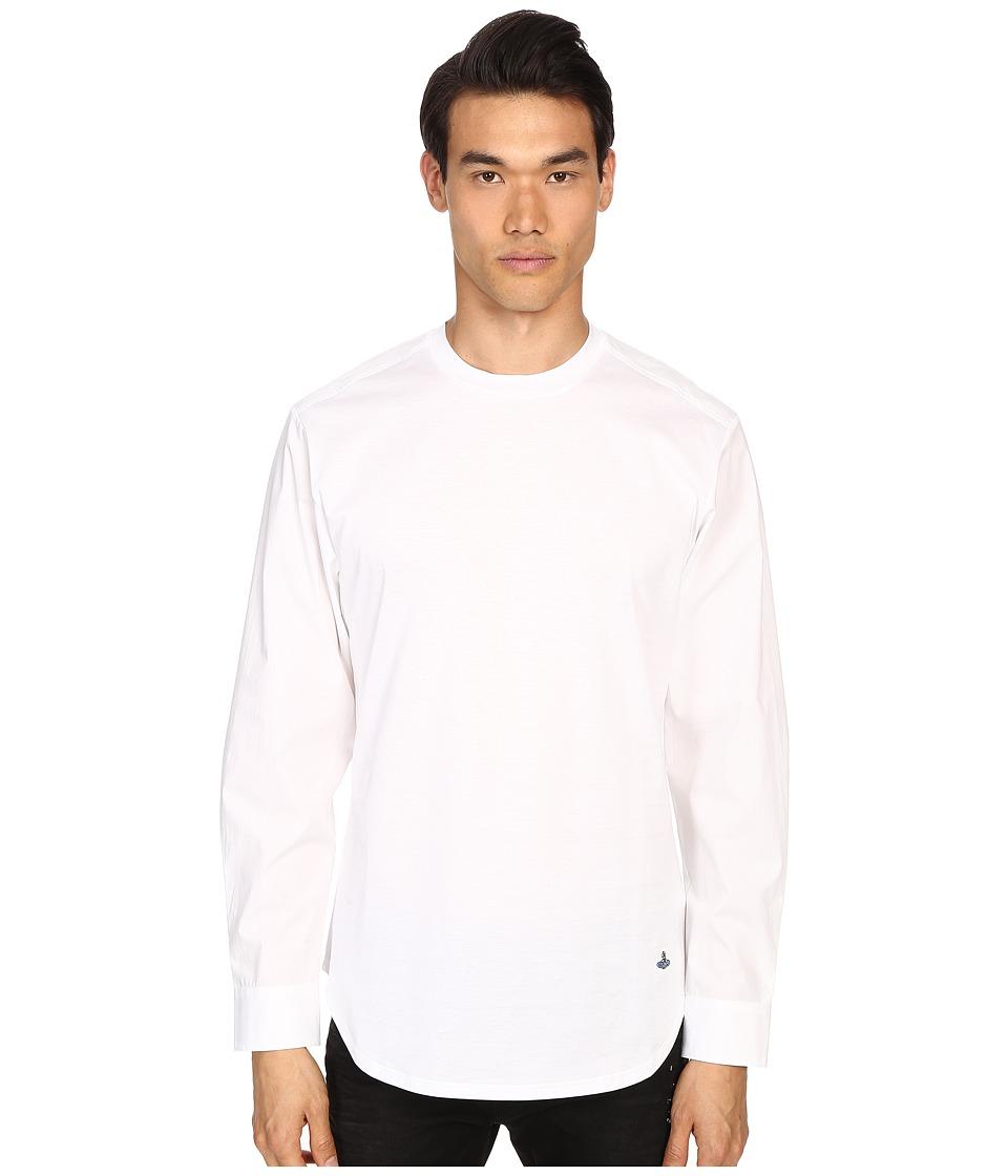Vivienne Westwood - Jersey Hybrid T-Shirt (White) Men's T Shirt
