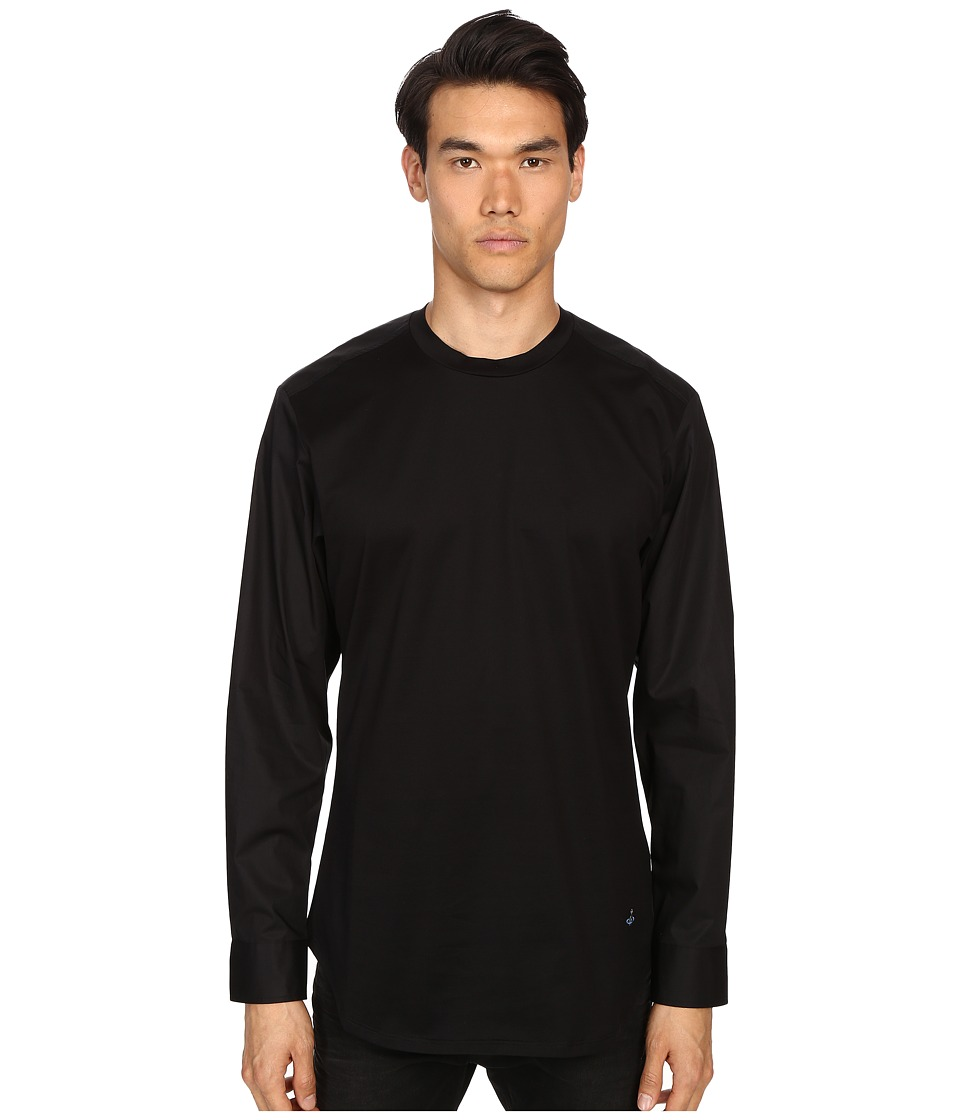 Vivienne Westwood - Jersey Hybrid T-Shirt (Black) Men's T Shirt