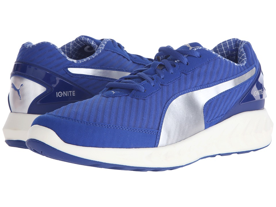 PUMA - Ignite Ultimate PWRCOOL (Surf The Web/Puma Silver) Men's Shoes