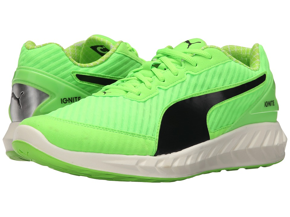 PUMA - Ignite Ultimate PWRCOOL (Green Gecko/Black) Men's Shoes