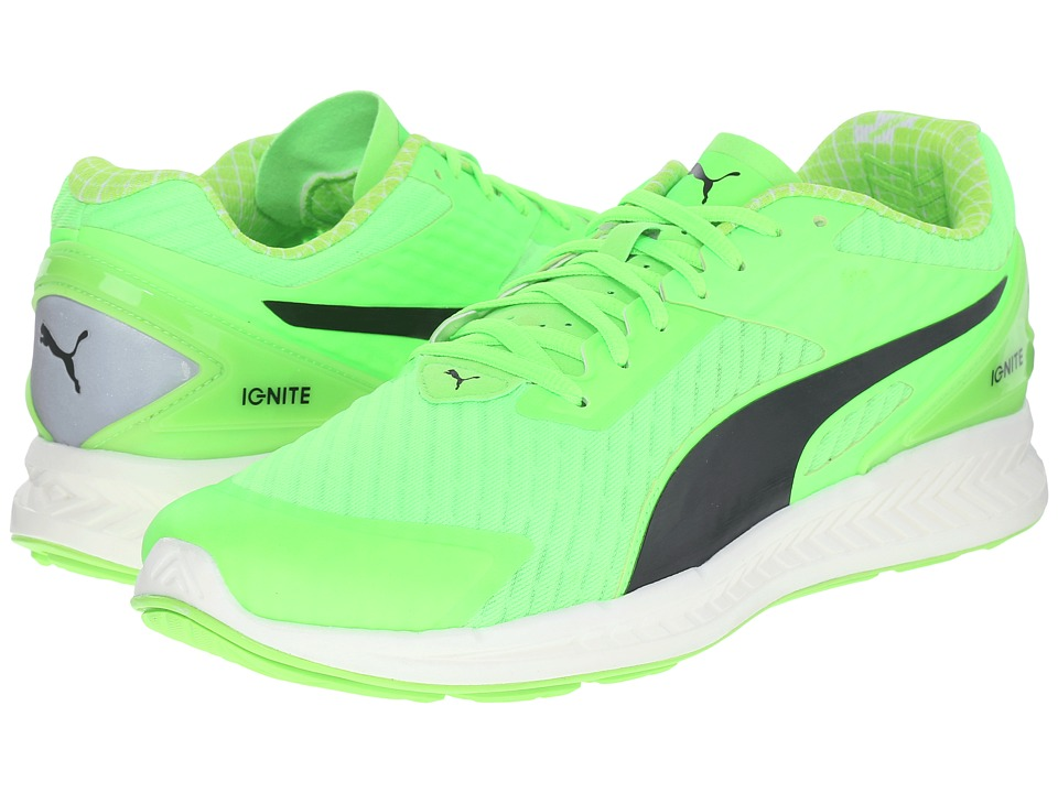 PUMA - Ignite V2 PWRCOOL (Green Gecko/Black) Men's Shoes