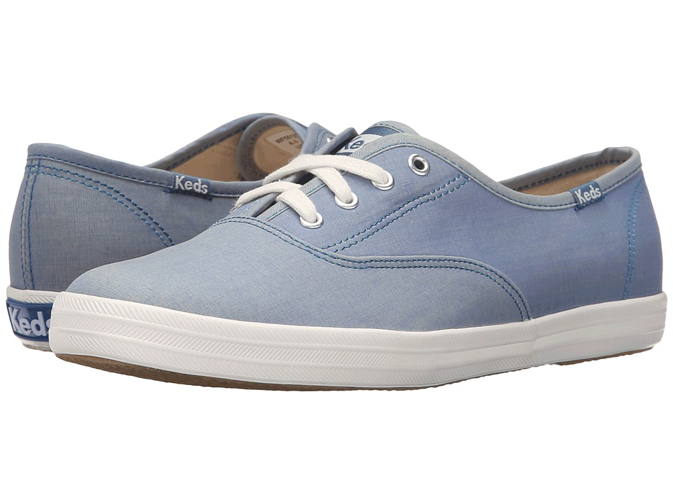 Keds Champion Convertible Color Change (Blue Canvas) Women