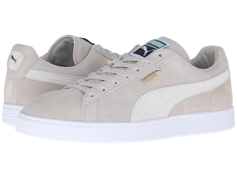 PUMA - Suede Classic + (Oatmeal/White) Men's Shoes