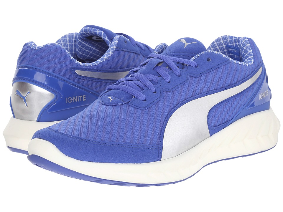 PUMA - Ignite Ultimate PWRCOOL (Dazzling Blue/Puma Silver) Women's Shoes
