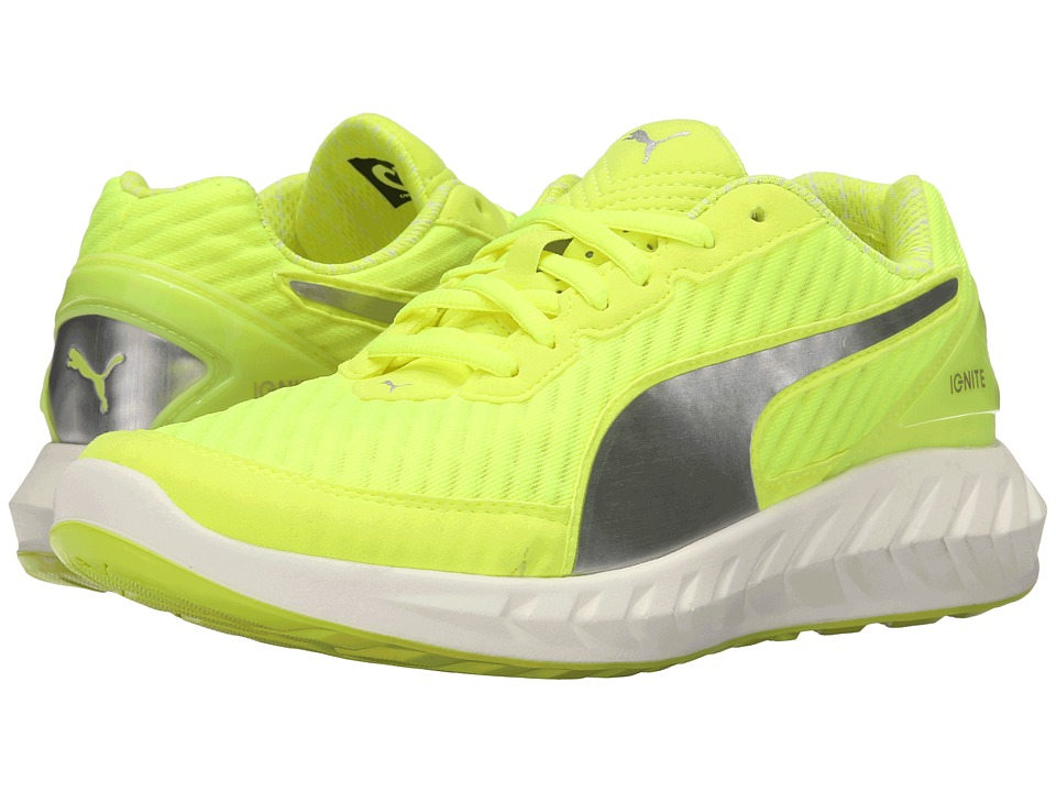 PUMA - Ignite Ultimate PWRCOOL (Safety Yellow/Puma Silver) Women's Shoes