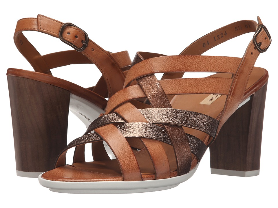Paul Green - Hanes Sandal (Cuoio Bronze Combo) High Heels