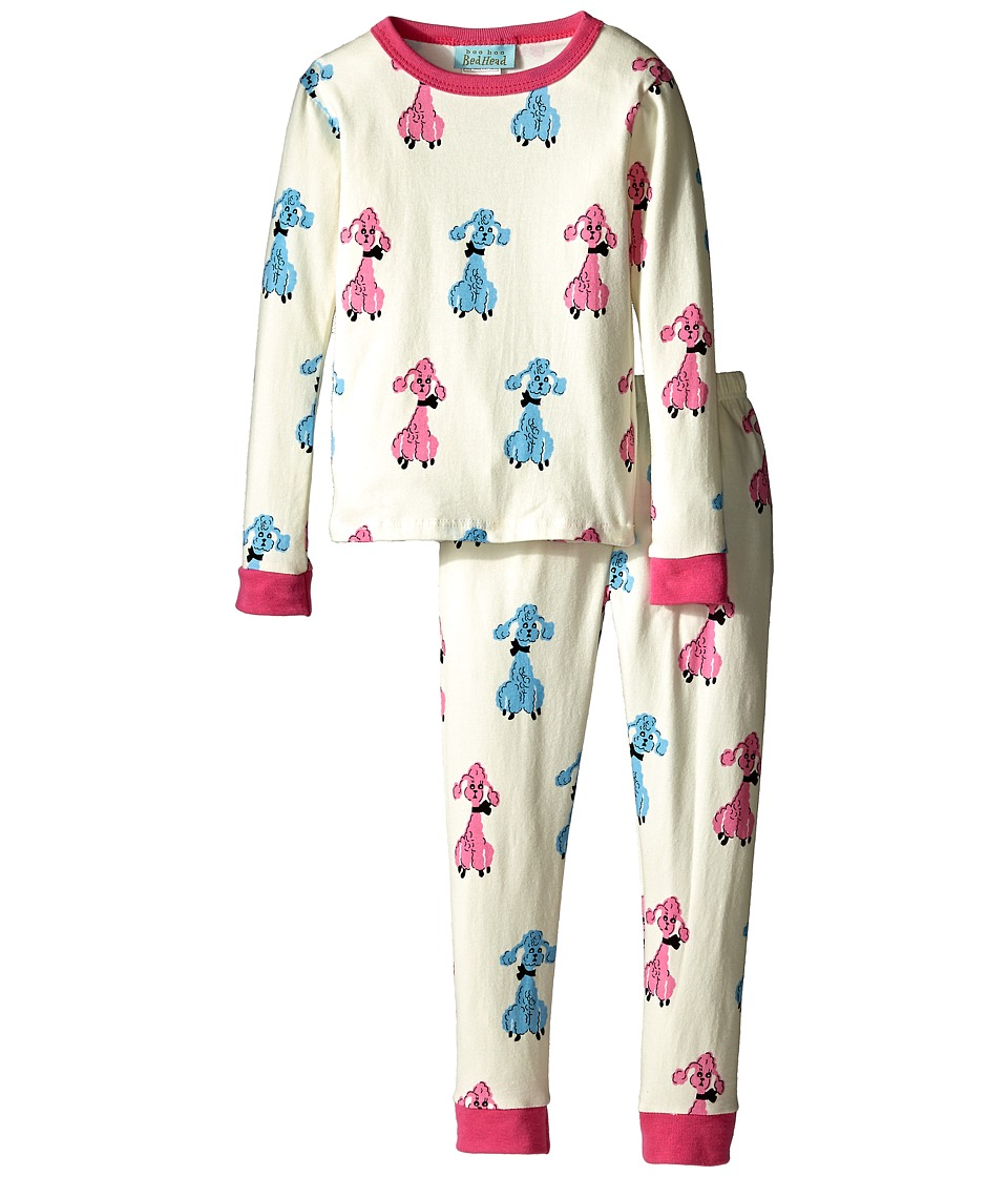 BedHead Kids - Snug Fit L/S Classic PJ (Toddler/Little Kids) (Poodles) Girl's Pajama Sets