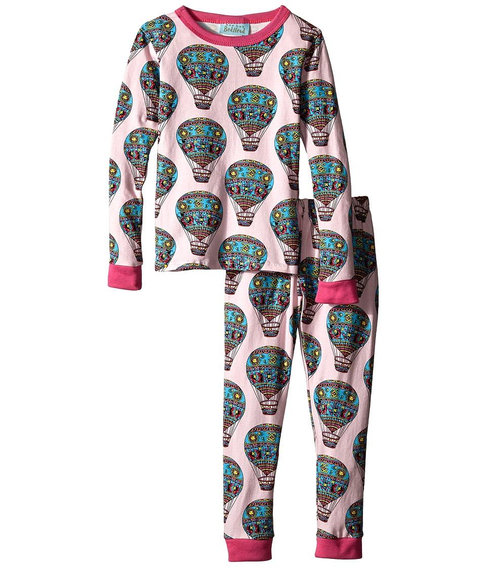 BedHead Kids - Snug Fit L/S Classic PJ (Toddler/Little Kids) (Multi Hot Air Balloons) Girl's Pajama Sets