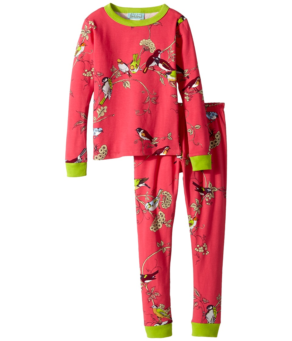 BedHead Kids - Snug Fit L/S Classic PJ (Toddler/Little Kids) (Birds/Branches) Girl's Pajama Sets