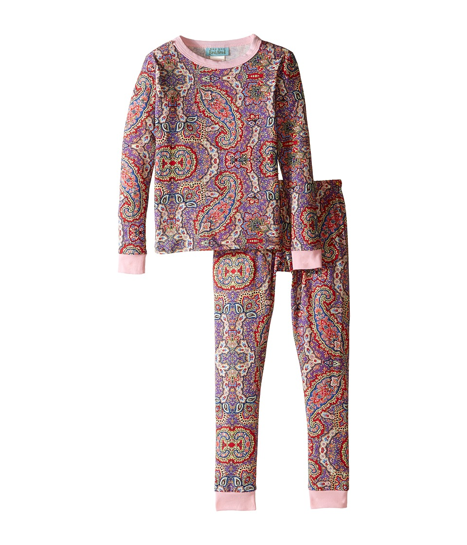 BedHead Kids - Snug Fit L/S Classic PJ (Toddler/Little Kids) (Boho Paisley) Girl's Pajama Sets