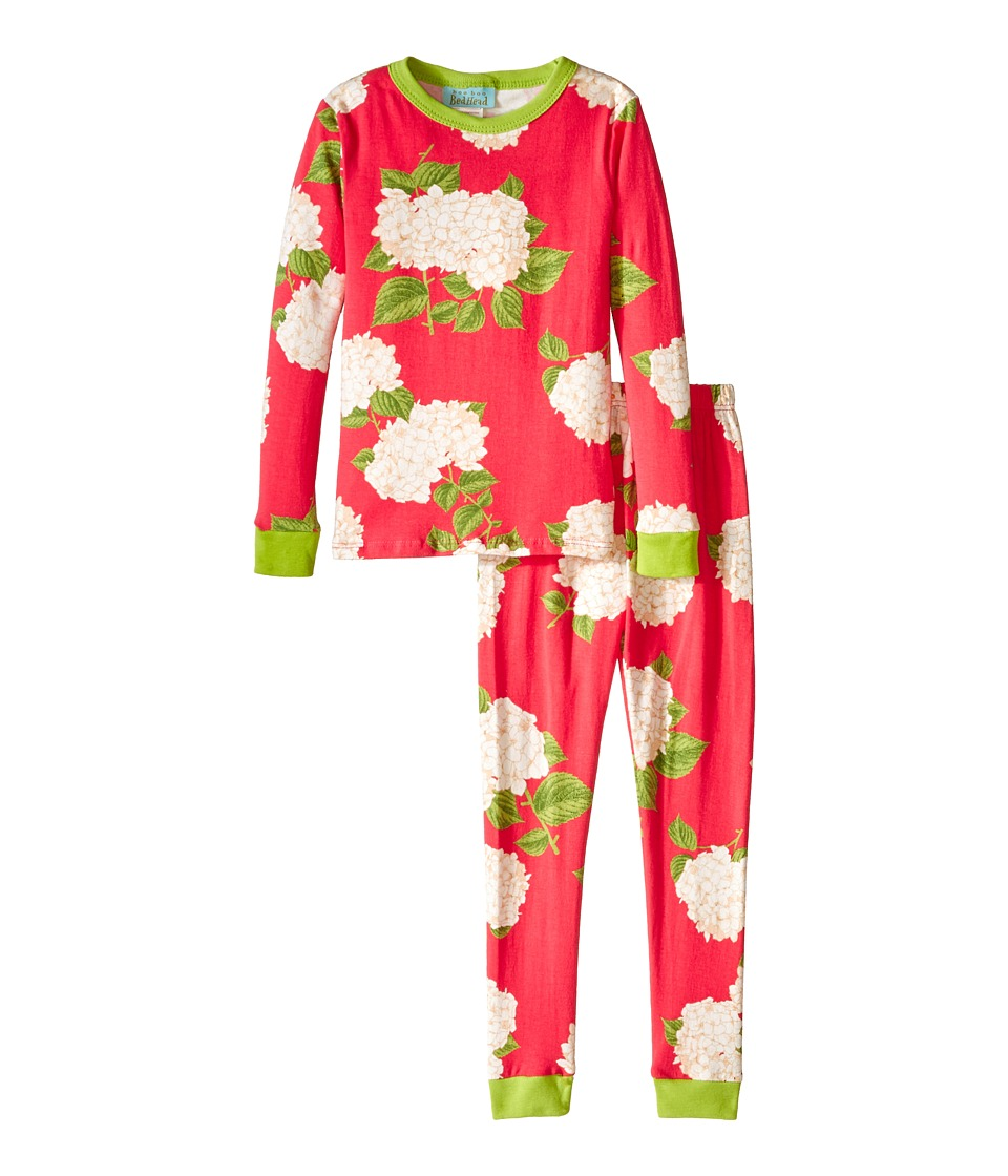 BedHead Kids - Snug Fit L/S Classic PJ (Toddler/Little Kids) (Rouge Hydrangea) Girl's Pajama Sets