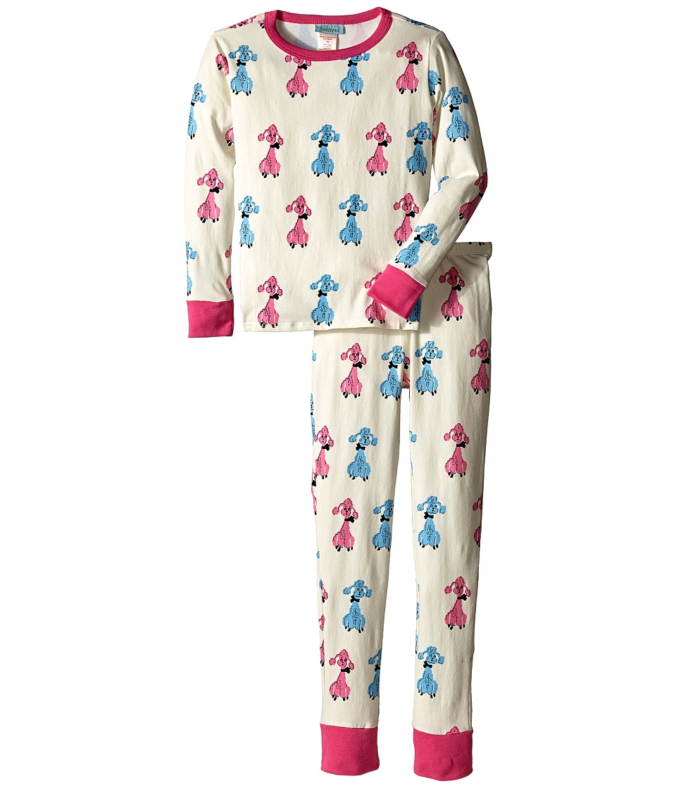 BedHead Kids - Snug Fit L/S Classic PJ (Big Kids) (Poodles) Girl's Pajama Sets