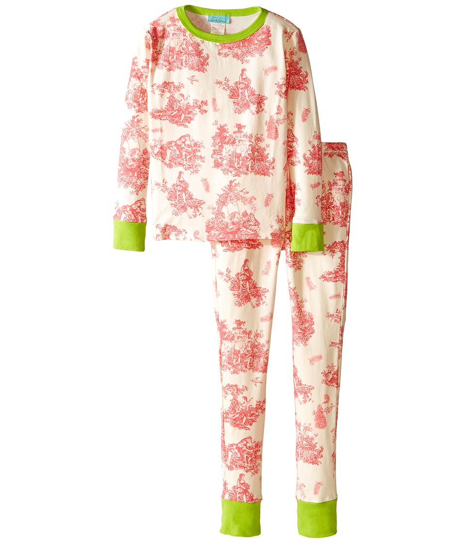 BedHead Kids - Snug Fit L/S Classic PJ (Big Kids) (Pink Vintage Toile) Girl's Pajama Sets