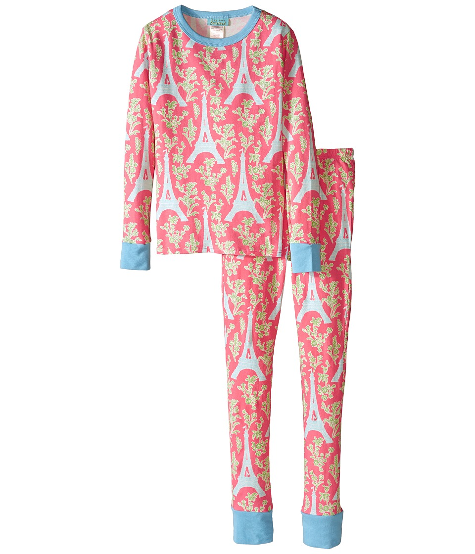 BedHead Kids - Snug Fit L/S Classic PJ (Big Kids) (Royal Eiffel) Girl's Pajama Sets