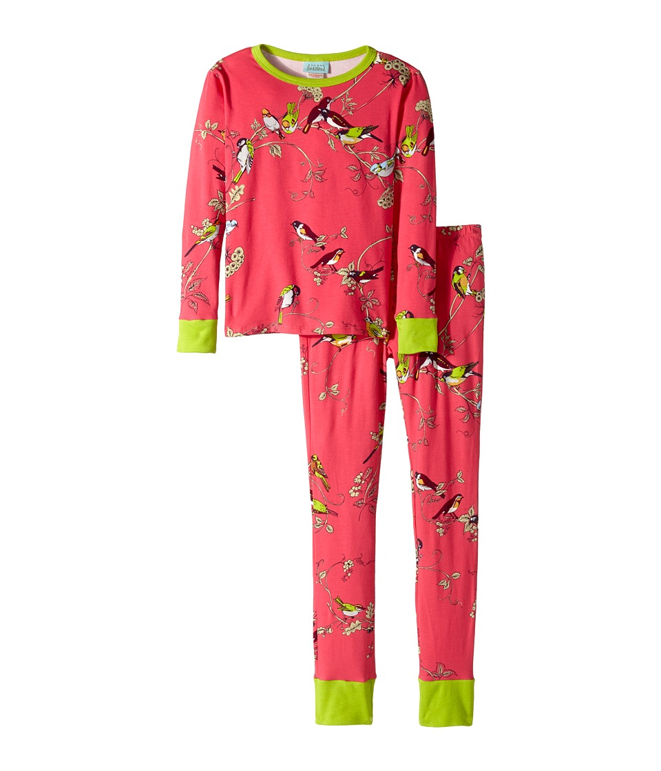 BedHead Kids - Snug Fit L/S Classic PJ (Big Kids) (Birds/Branches) Girl's Pajama Sets