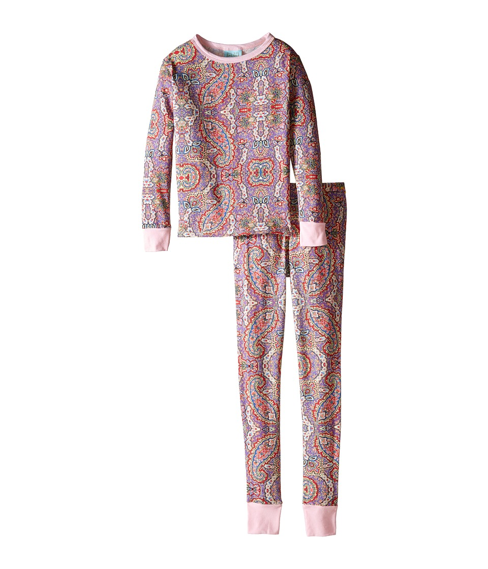 BedHead Kids - Snug Fit L/S Classic PJ (Big Kids) (Boho Paisley) Girl's Pajama Sets
