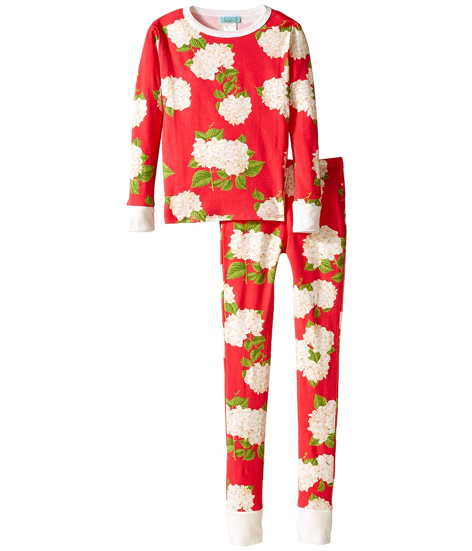 BedHead Kids - Snug Fit L/S Classic PJ (Big Kids) (Rouge Hydrangea) Girl's Pajama Sets
