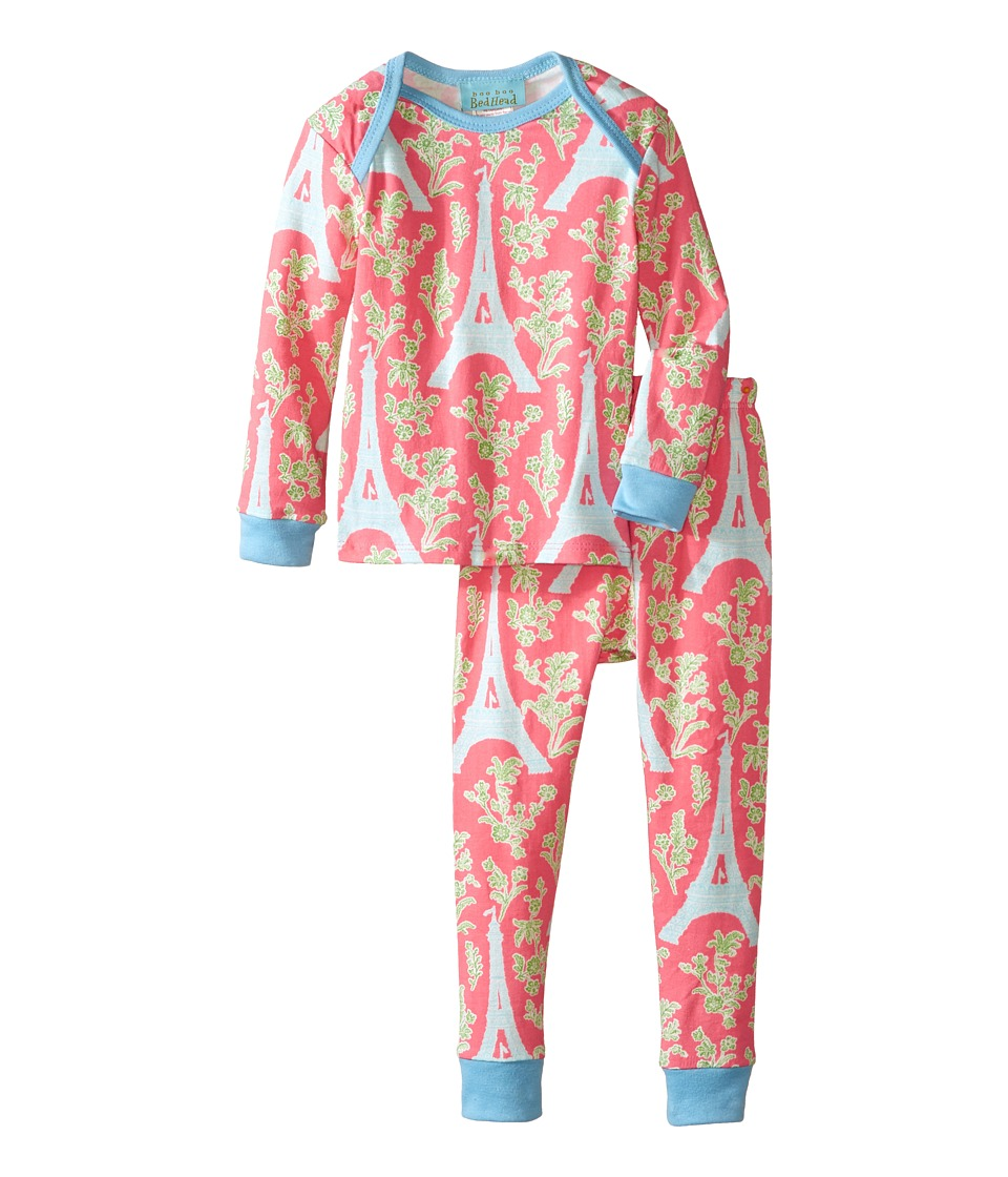 BedHead Kids - L/S Tee Pant (Infant) (Royal Eiffel) Girl's Pajama Sets