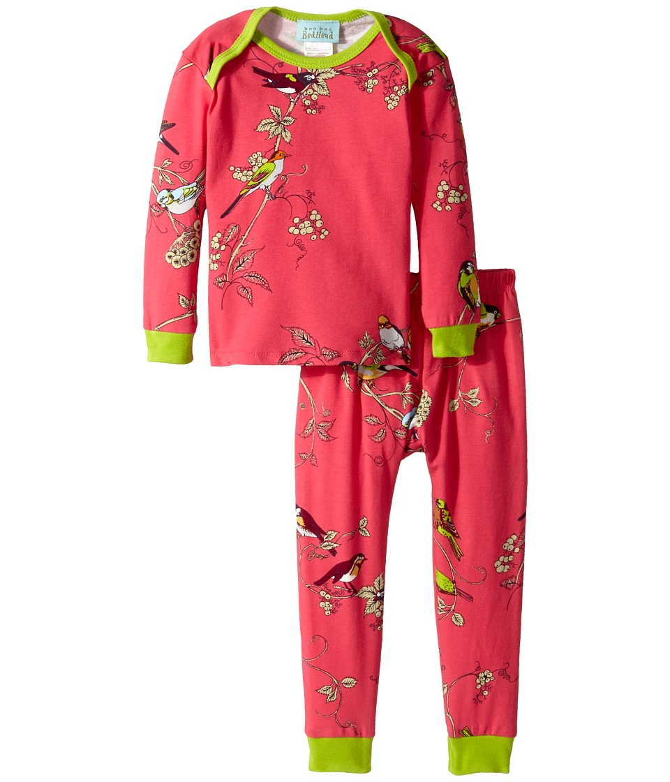 BedHead Kids - L/S Tee Pant (Infant) (Birds/Branches) Girl
