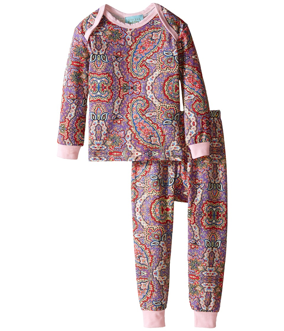 BedHead Kids - L/S Tee Pant (Infant) (Boho Paisley) Girl's Pajama Sets