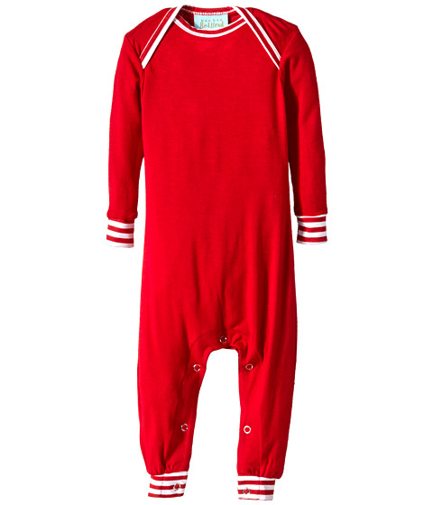 BedHead Kids - Baby L/S One Piece (Infant) (Solid Red) Girl's Jumpsuit & Rompers One Piece