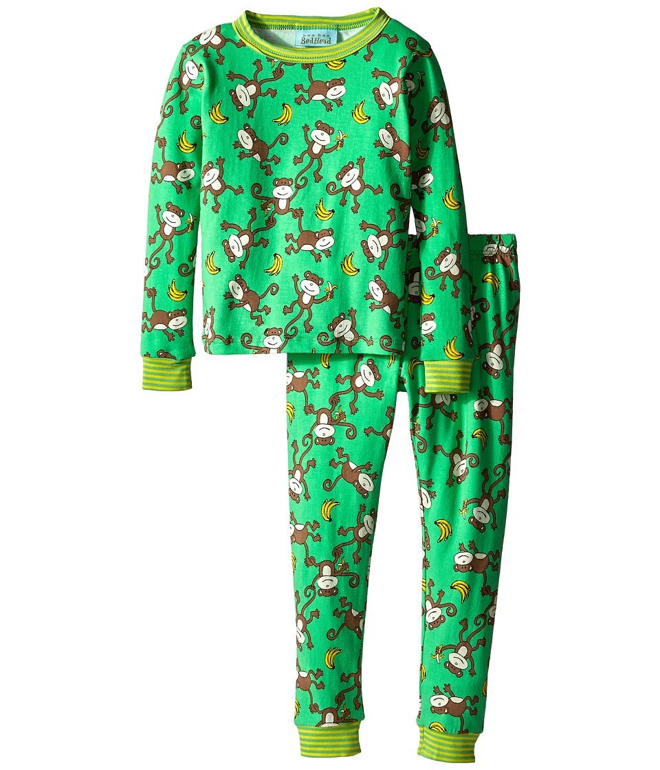 BedHead Kids - Stretch L/S Kids PJ (Toddler/Little Kids) (Going Bananas) Kid's Pajama Sets