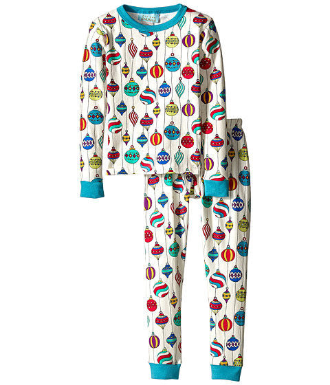 BedHead Kids - Stretch L/S Kids PJ (Toddler/Little Kids) (Hanging Ornaments) Kid