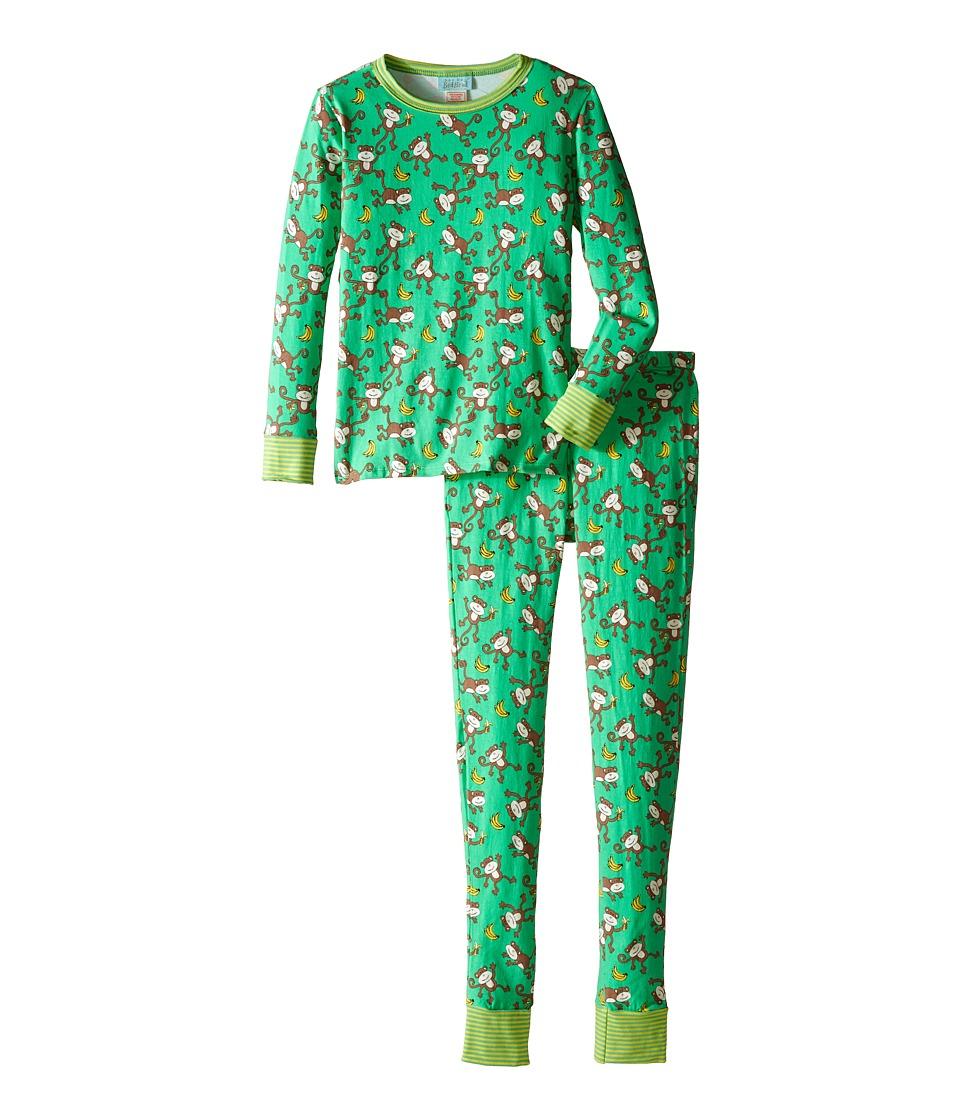 BedHead Kids - Tween Snug Fit Classic PJ (Big Kids) (Going Bananas) Kid's Pajama Sets