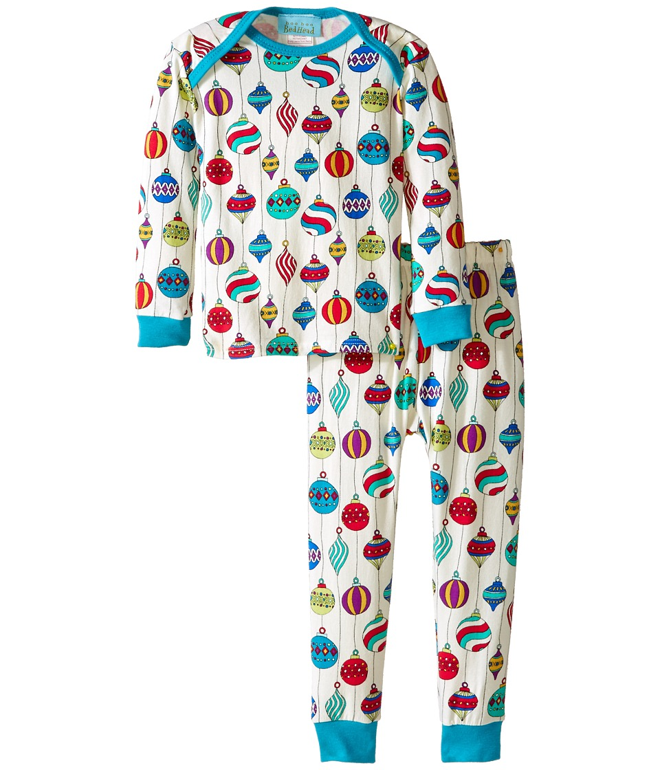 BedHead Kids - Long Sleeve Baby Tee Pant Set (Infant) (Hanging Ornaments) Kid
