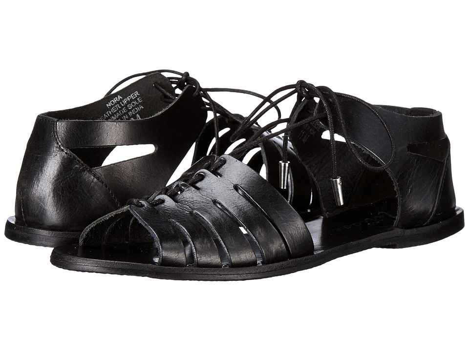 Matisse - Nora (Black) Women's Toe Open Shoes