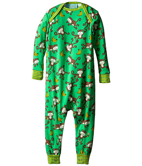 BedHead Kids - Long Sleeve One-Piece (Infant) (Going Bananas) Kid's Jumpsuit & Rompers One Piece