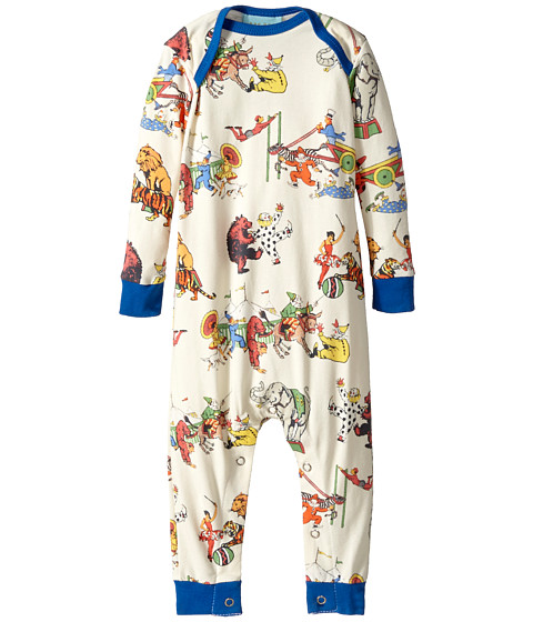 BedHead Kids - Long Sleeve One-Piece (Infant) (Showtime) Kid's Jumpsuit & Rompers One Piece