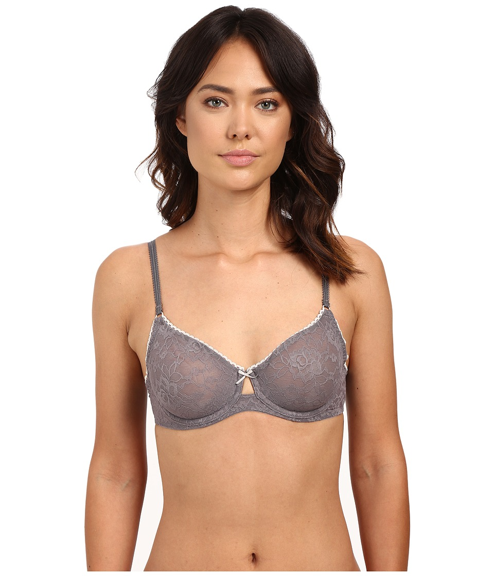 b.tempt'd - Full Bloom Underwire Bra 951133 (Platinum) Women's Bra