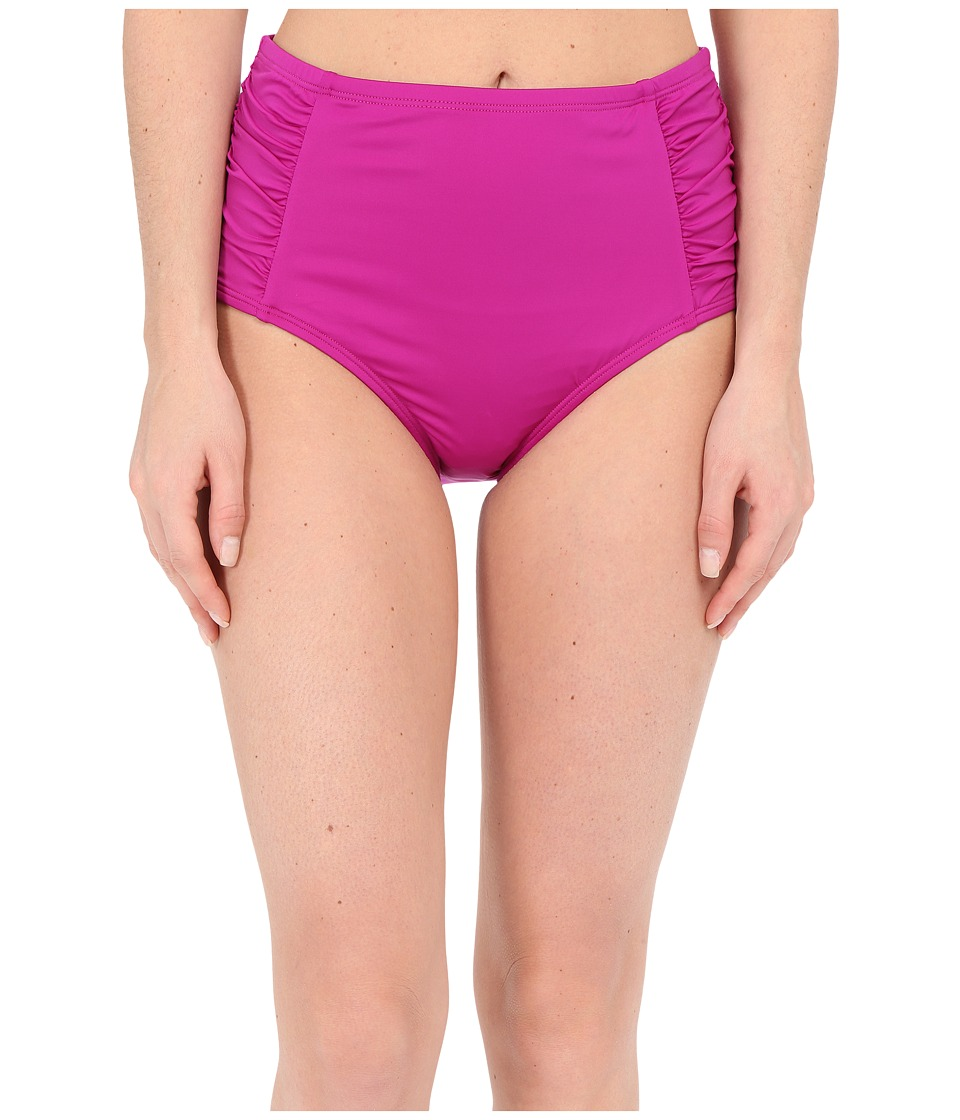 Jantzen - Solids High Waisted Bottom (Deep Sangria) Women's Swimwear