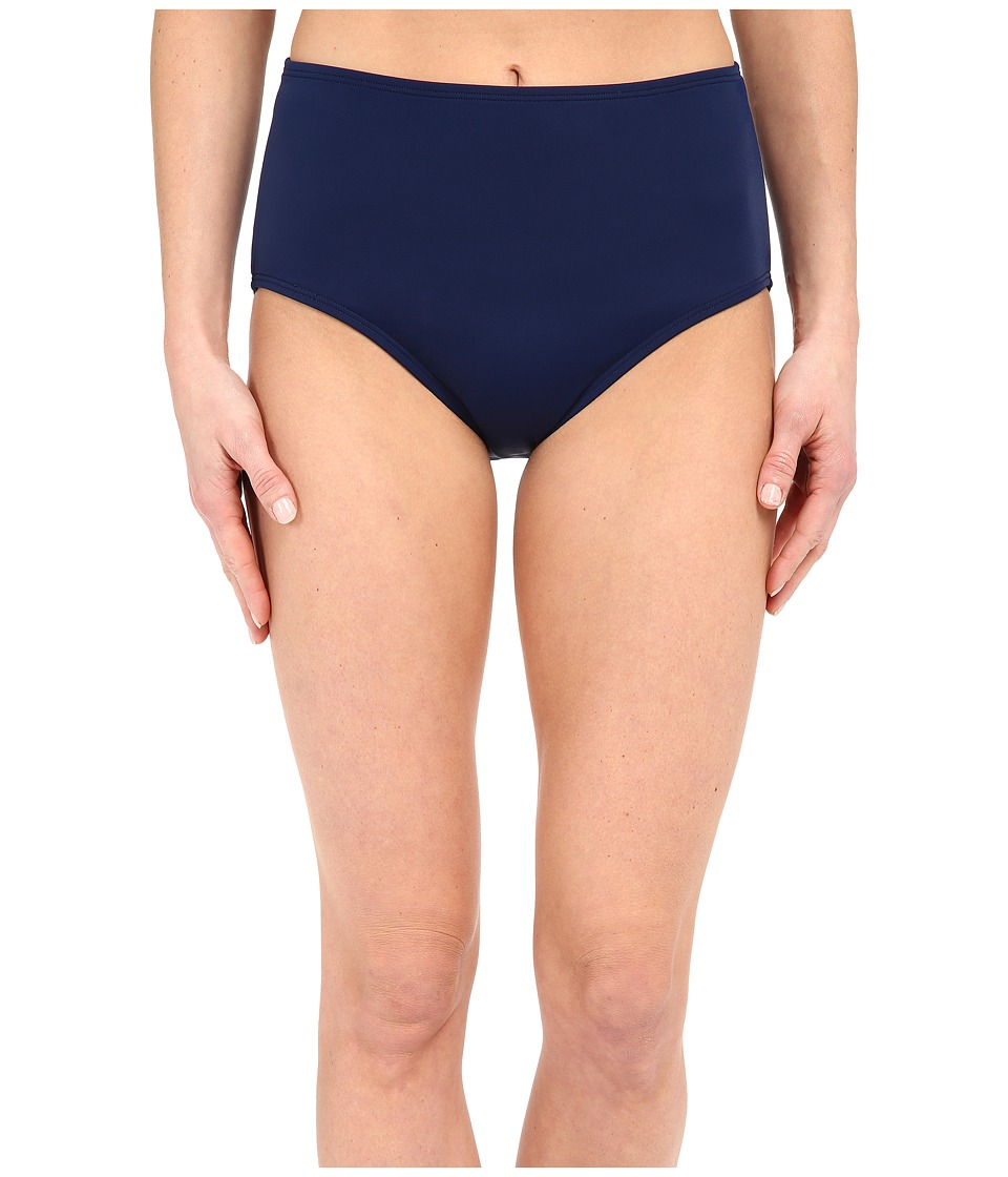Jantzen - Solids Comfort Core Bottom (Nocturne Blue) Women's Swimwear
