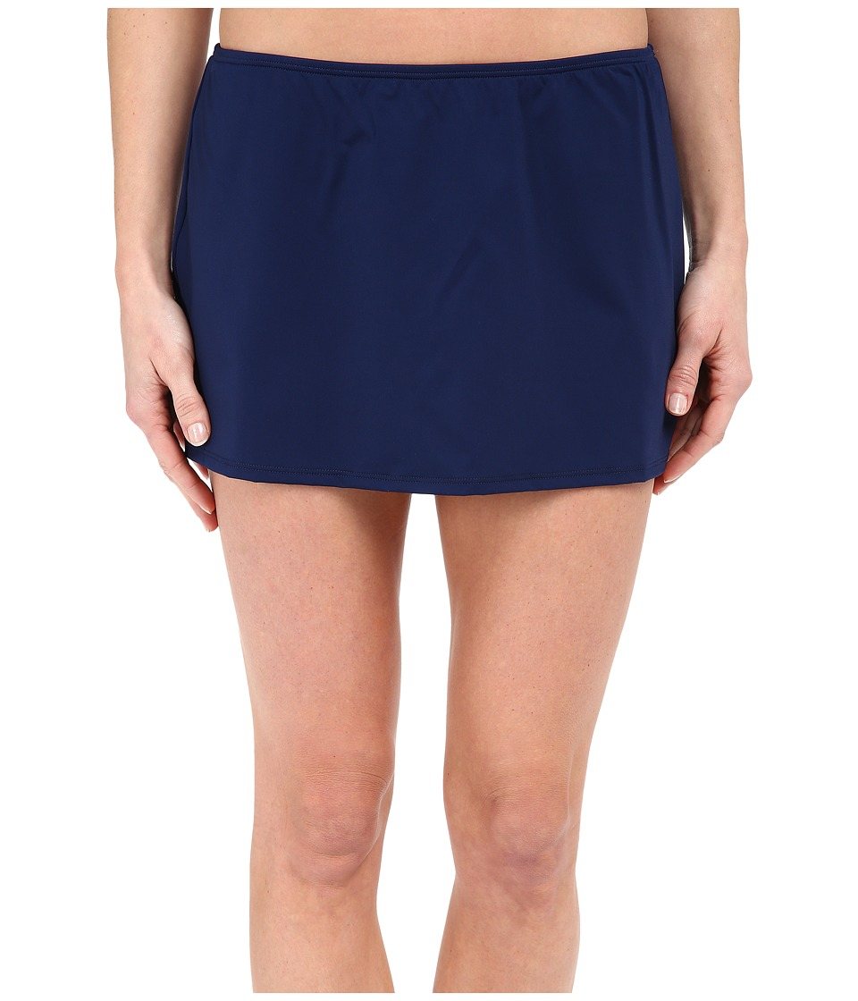 Jantzen - Solids Skirted Bottom (Nocturne Blue) Women's Swimwear