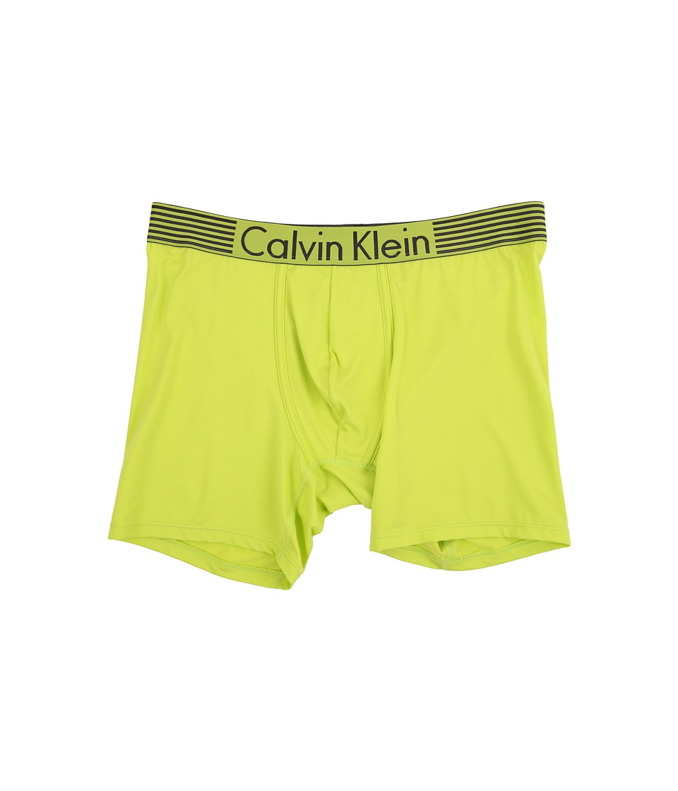 Calvin Klein Underwear - Iron Flex - Micro Boxer Brief (Striking Lime) Men's Underwear