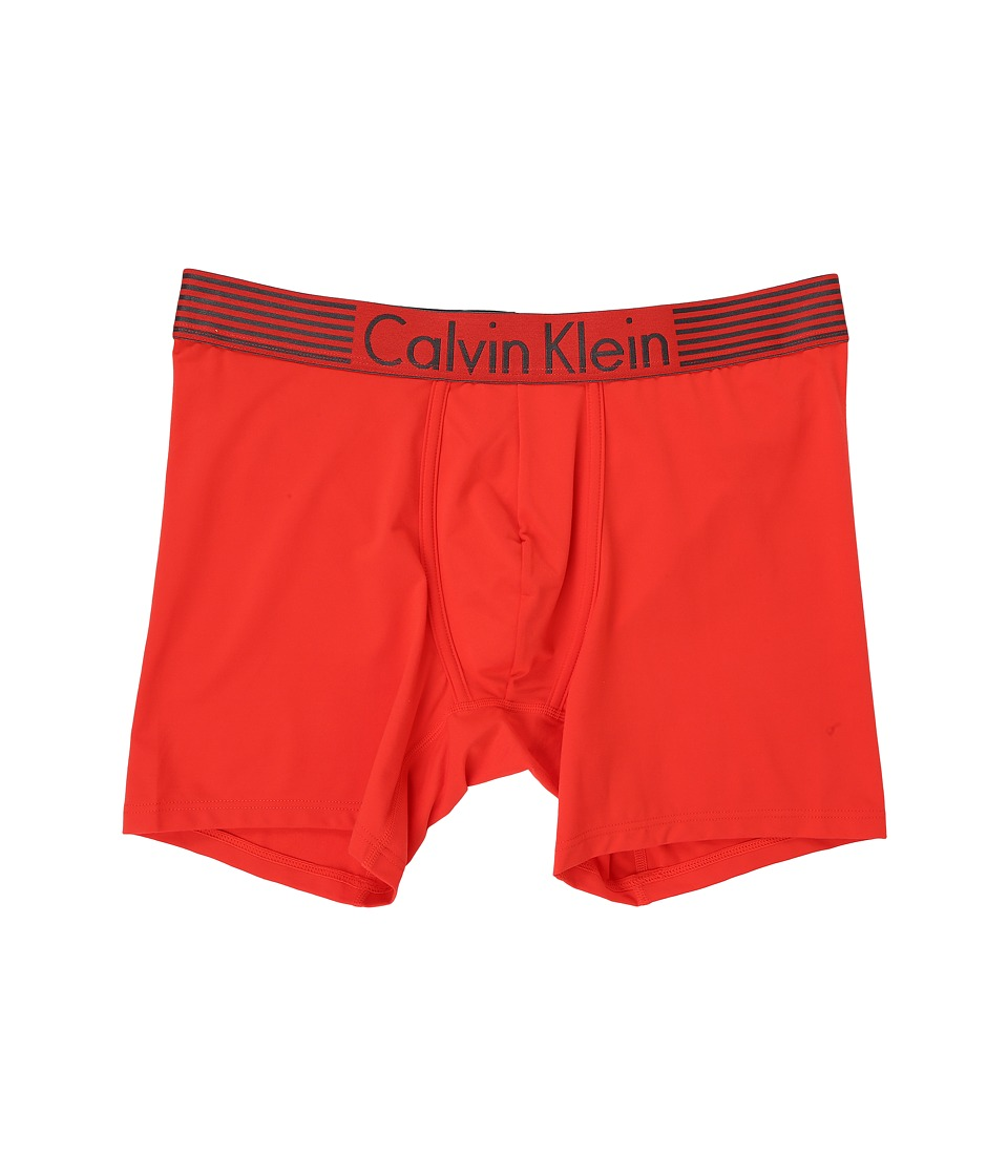 Calvin Klein Underwear - Iron Flex - Micro Boxer Brief (Ryan Red) Men's Underwear