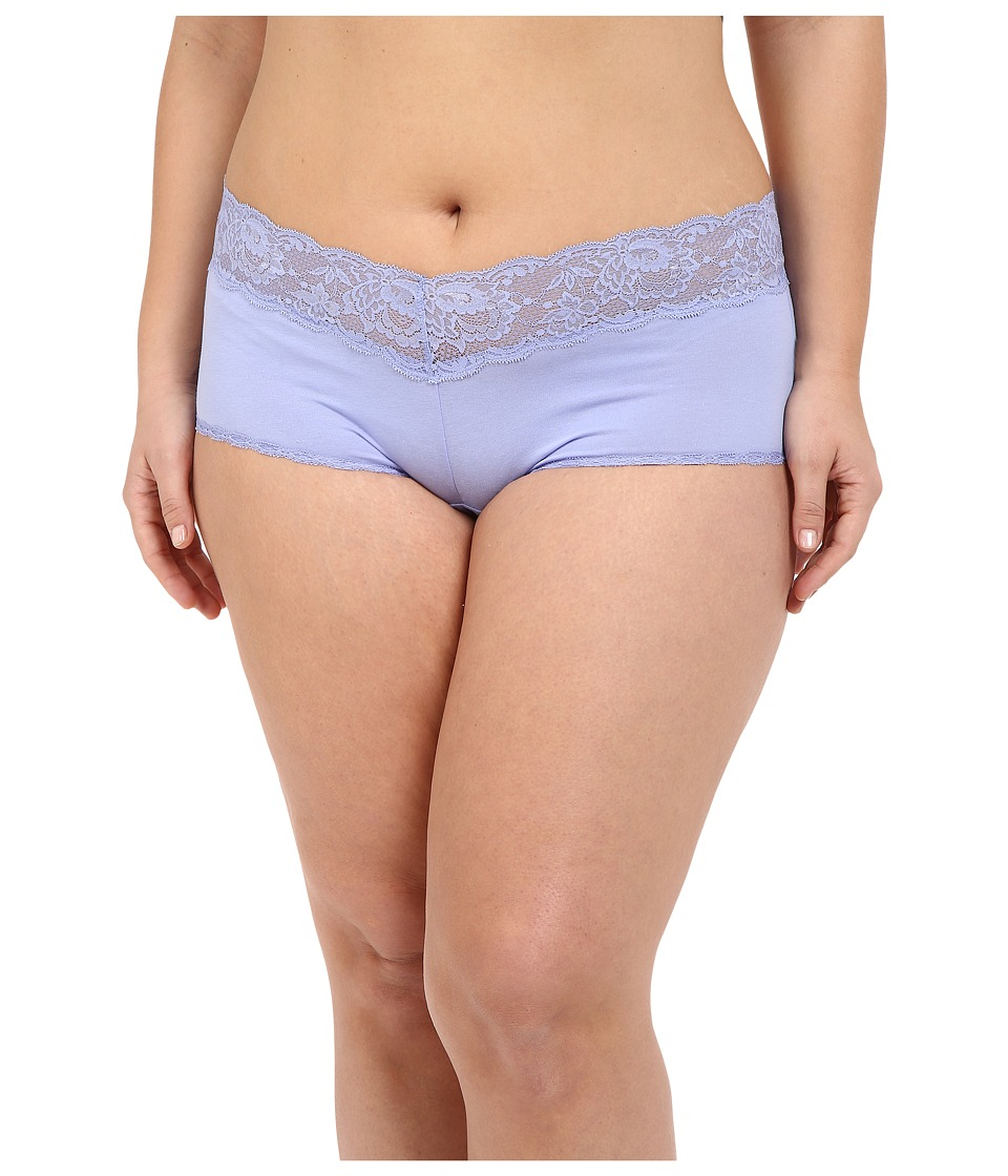 Cosabella - Extended Size Never Say Never Cheekie Hotpant (Purple Sky) Women's Underwear