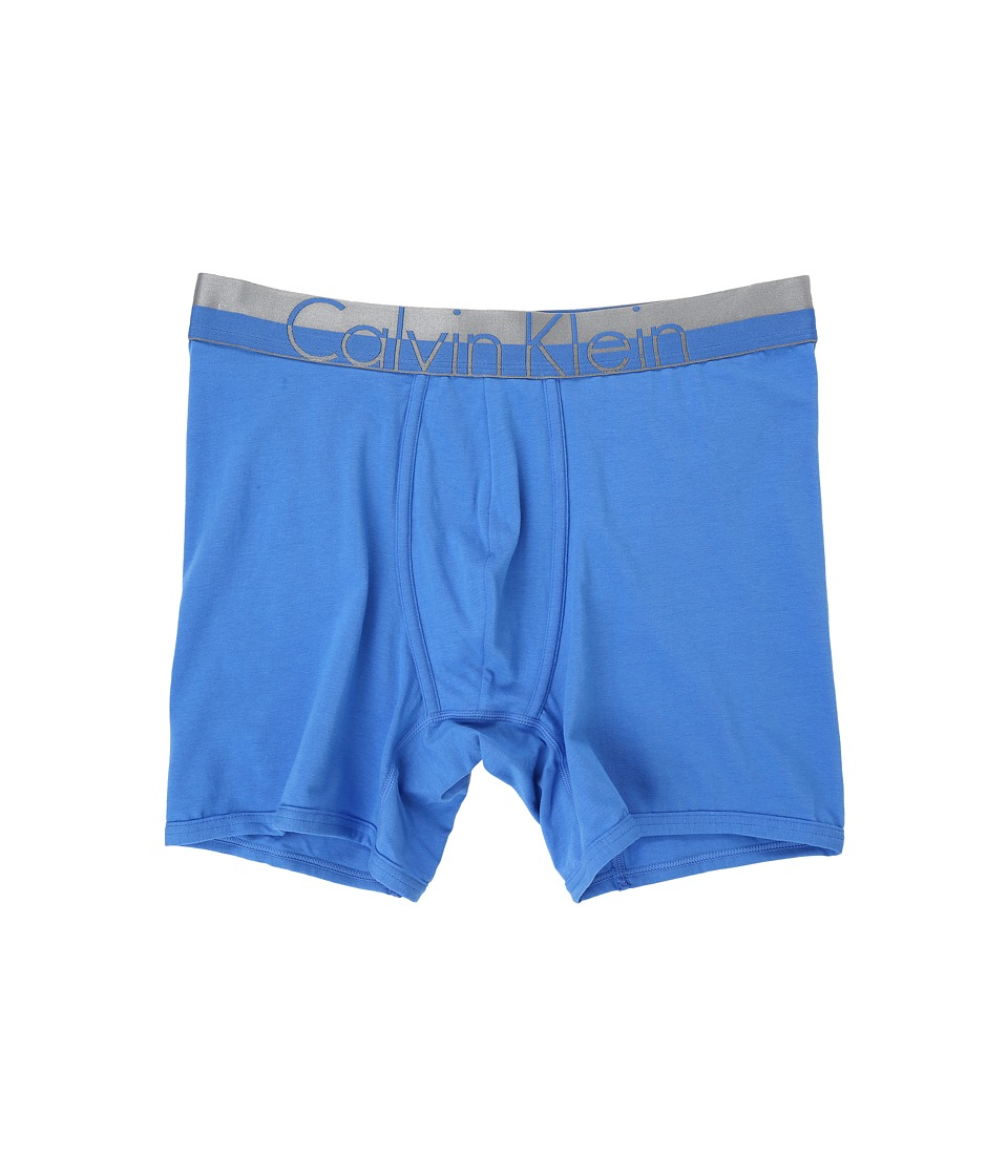 Calvin Klein Underwear - Magnetic Cotton Boxer Brief (Urban Blue) Men's Underwear