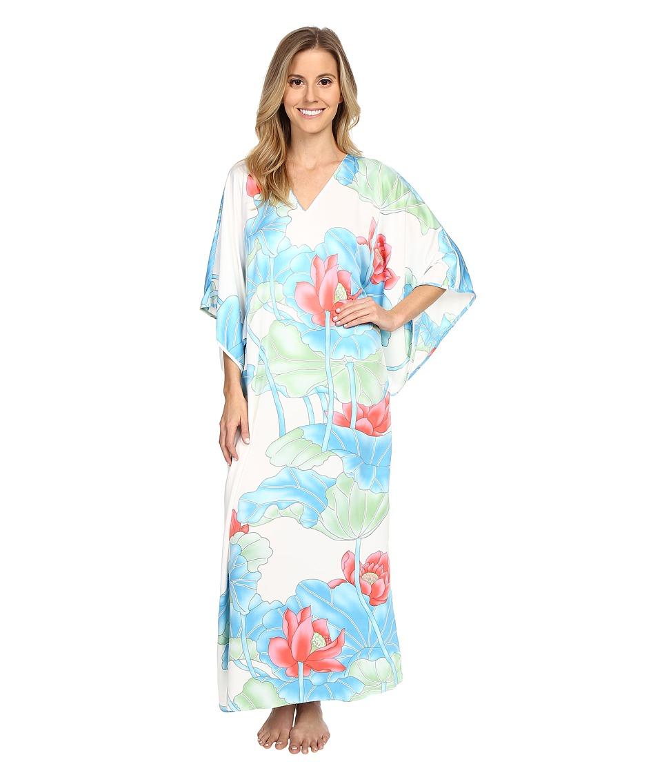 Natori - Lian Caftan (Warm White) Women's Pajama