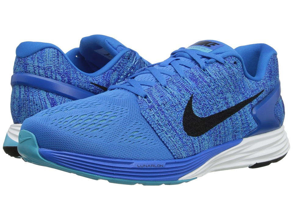 Nike - Lunarglide 7 (Photo Blue/Black/Concord) Men's Running Shoes